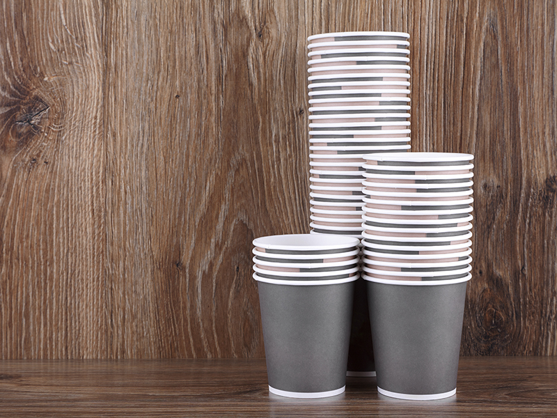 For serving beverages try compostable cups