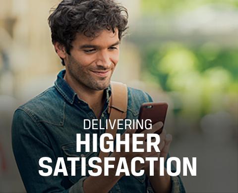 Delivering Higher Satisfaction