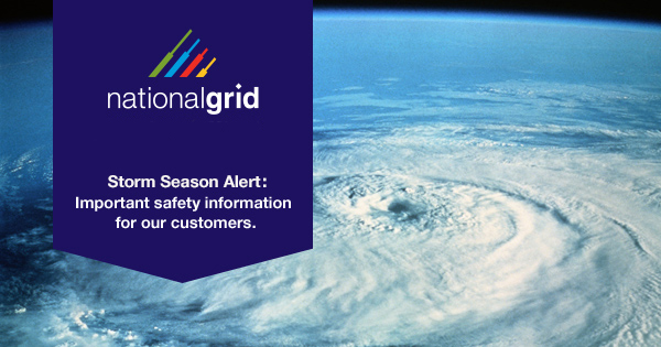 Storm Season Alert: Important safety information for our customers.
