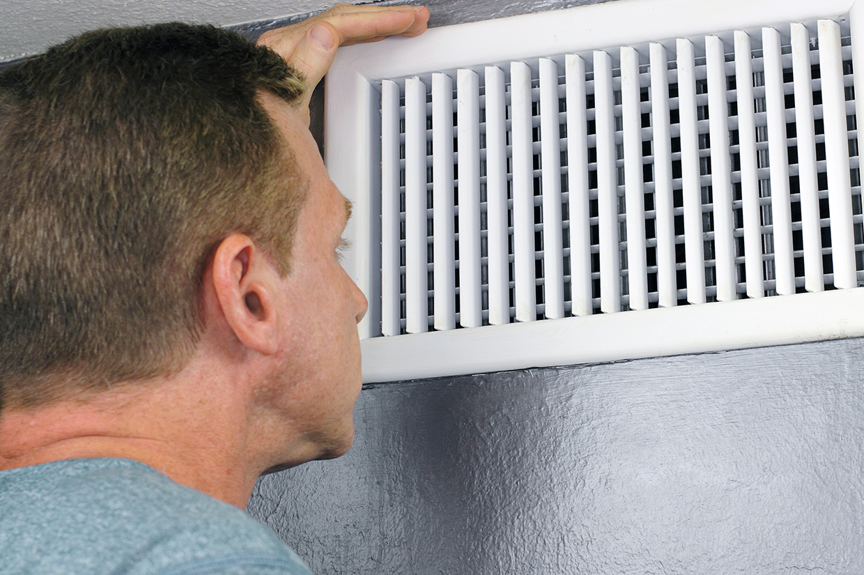 Check and properly sealing ducts can make your home more energy efficient