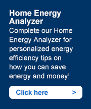 Home Energy Analyzer. Complete our Home Energy Analyzer for personalized energy efficiency tips on how you can save energy and money! Click here ->