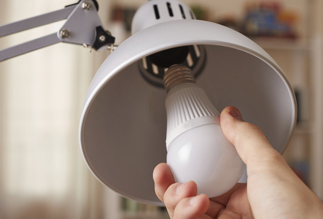 LED lights uses 75 percent less energy