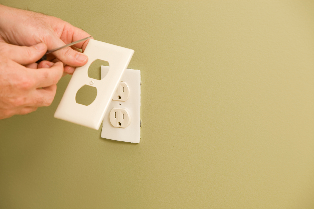 Insulate your outlets.