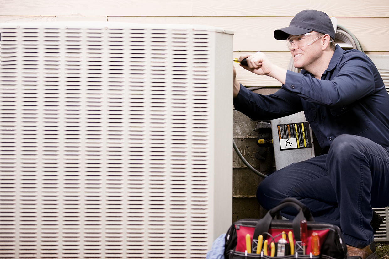 Do annual inspections of your HVAC system.
